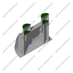 Устройство септика Септик ЛАД 1.8 Н