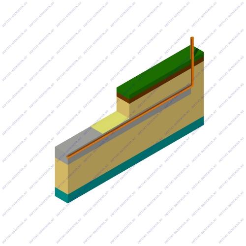 Энергонезависимое поле фильтрации после септика для дачи и загородного дома